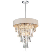 CWI Lighting Crystals Franca Chandeliers