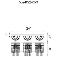 Chrome Crystals Blissful Wall Sconces
