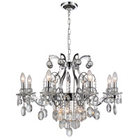 Minoan 11 Light 29 inch Chrome Chandelier Ceiling Light