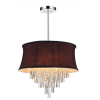 CWI Lighting Chrome Audrey Chandeliers