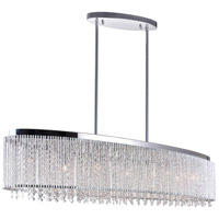 Claire 7 Light 46 inch Chrome Chandelier Ceiling Light