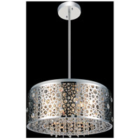 Bubbles 7 Light 20 inch Chrome Chandelier Ceiling Light