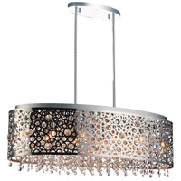 Bubbles 11 Light 30 inch Chrome Chandelier Ceiling Light