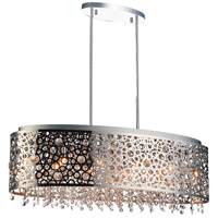 CWI Lighting 5536P30ST-O Bubbles 11 Light 30 inch Chrome Chandelier Ceiling Light