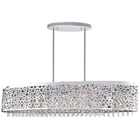 CWI Lighting 5536P46ST-O Bubbles 16 Light 46 inch Chrome Chandelier Ceiling Light