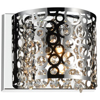 CWI Lighting 5536W9ST-R-1 Bubbles 1 Light 8 inch Chrome Wall Sconce Wall Light