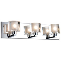 CWI Lighting 5540W19C-601 Tina 3 Light 19 inch Chrome Wall Sconce Wall Light
