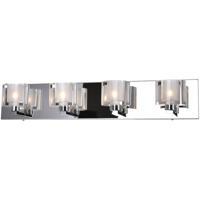 CWI Lighting 5540W25C-601 Tina 4 Light 25 inch Chrome Wall Sconce Wall Light