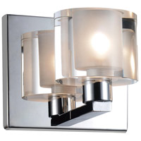 CWI Lighting 5540W5C-601 Tina 1 Light 4 inch Chrome Wall Sconce Wall Light