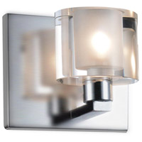 Tina 1 Light 5 inch Satin Nickel Wall Sconce Wall Light