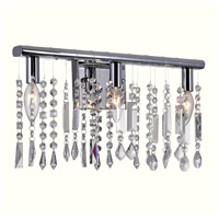CWI Lighting 5549W18C Janine 3 Light 18 inch Chrome Wall Sconce Wall Light