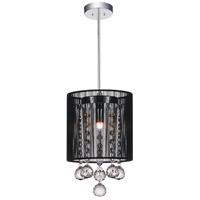 CWI Lighting 5556P6C-R-(B) Shower 1 Light 6 inch Chrome Pendant Ceiling Light