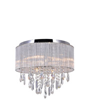 CWI Lighting 5558C16C Jacquimo 9 Light 16 inch Chrome Flush Mount Ceiling Light