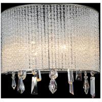 CWI Lighting 5562W12C-A-CLEAR Benson 2 Light 12 inch Chrome Wall Sconce Wall Light