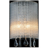 CWI Lighting 5562W8C-A-CLEAR Benson 2 Light 8 inch Chrome Wall Sconce Wall Light