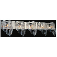 CWI Lighting 5564W39C-5 Della 5 Light 39 inch Chrome Wall Sconce Wall Light photo thumbnail