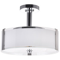 CWI Lighting Chrome Fabric Pendants