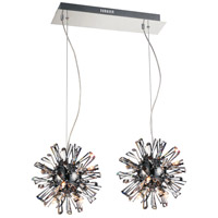 Flair 18 Light 11 inch Chrome Chandelier Ceiling Light