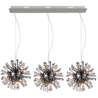 CWI Lighting 5572P41C-RC(L) Flair 27 Light 41 inch Chrome Multi Light Pendant Ceiling Light