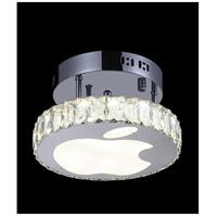 CWI Lighting 5612C10ST Rosemary LED 10 inch Chrome Flush Mount Ceiling Light