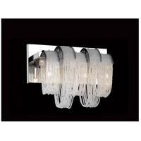 CWI Lighting Chrome Engaged Wall Sconces