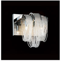CWI Lighting 5615W9C Engaged 2 Light 6 inch Chrome Vanity Light Wall Light