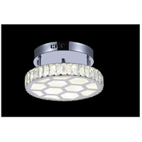 Chelsea LED 12 inch Chrome Flush Mount Ceiling Light