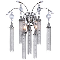 CWI Lighting 5622W15C Chloe 2 Light 8 inch Chrome Wall Sconce Wall Light