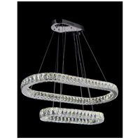 CWI Lighting Chrome Crystals Milan Pendants