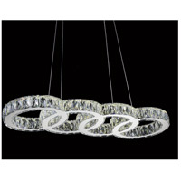 CWI Lighting Chrome Metal Milan Chandeliers