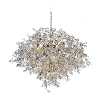 Flurry 17 Light 35 inch Chrome Chandelier Ceiling Light
