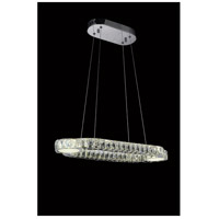CWI Lighting 5632P30ST-RC Drew LED 30 inch Chrome Chandelier Ceiling Light photo thumbnail