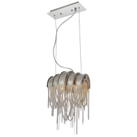 Shirley 2 Light 11 inch Chrome Pendant Ceiling Light
