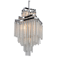 Storm 10 Light 19 inch Chrome Chandelier Ceiling Light