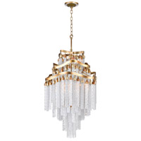 Storm 10 Light 19 inch Gold Chandelier Ceiling Light