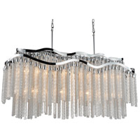 CWI Lighting 5648P47C-RC Storm 12 Light 47 inch Chrome Down Chandelier Ceiling Light