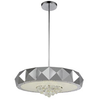 Meuse 10 Light 30 inch Chrome Chandelier Ceiling Light