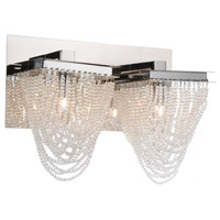 Chrome Finke Wall Sconces