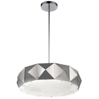 Rigelle 10 Light 24 inch Chrome Chandelier Ceiling Light