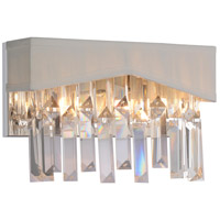 CWI Lighting 5674W10C-W Havely 2 Light 10 inch Chrome Wall Sconce Wall Light