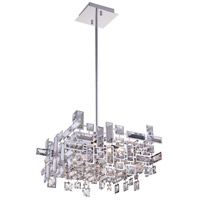 CWI Lighting 5689P14-6-S-601 Arley 6 Light 14 inch Chrome Chandelier Ceiling Light