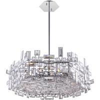 Cwi Lighting 5689p14 6 S 601 Arley 6 Light 14 Inch Chrome Chandelier Ceiling Light