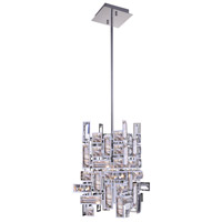 CWI Lighting 5689P6-1-S-601 Arley 1 Light 6 inch Chrome Pendant Ceiling Light