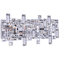 CWI Lighting 5689W18-4-601 Arley 4 Light 18 inch Chrome Wall Sconce Wall Light