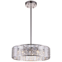 CWI Lighting 5700P29-12-613 Squill 12 Light 29 inch Bright Nickel Chandelier Ceiling Light