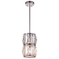 CWI Lighting 5700P6-2-613 Squill 2 Light 6 inch Polished Nickel Pendant Ceiling Light