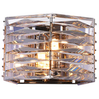 CWI Lighting 5700W9-2-613 Squill 2 Light 9 inch Bright Nickel Wall Sconce Wall Light