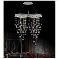 CWI Lighting 6640P32C-O Robin 6 Light 32 inch Chrome Island Chandelier Ceiling Light