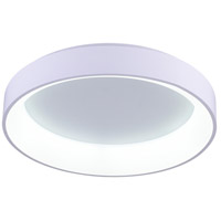 CWI Lighting 7103C24-1-104 Arenal LED 24 inch White Flush Mount Ceiling Light