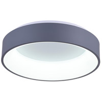 CWI Lighting 7103C24-1-167 Arenal LED 24 inch Gray Flush Mount Ceiling Light